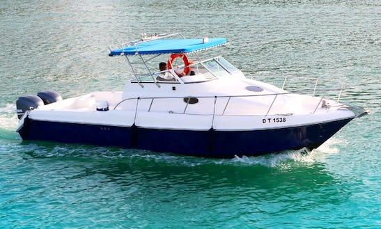 Cuddy Cabin Fishing Charter In Dubai