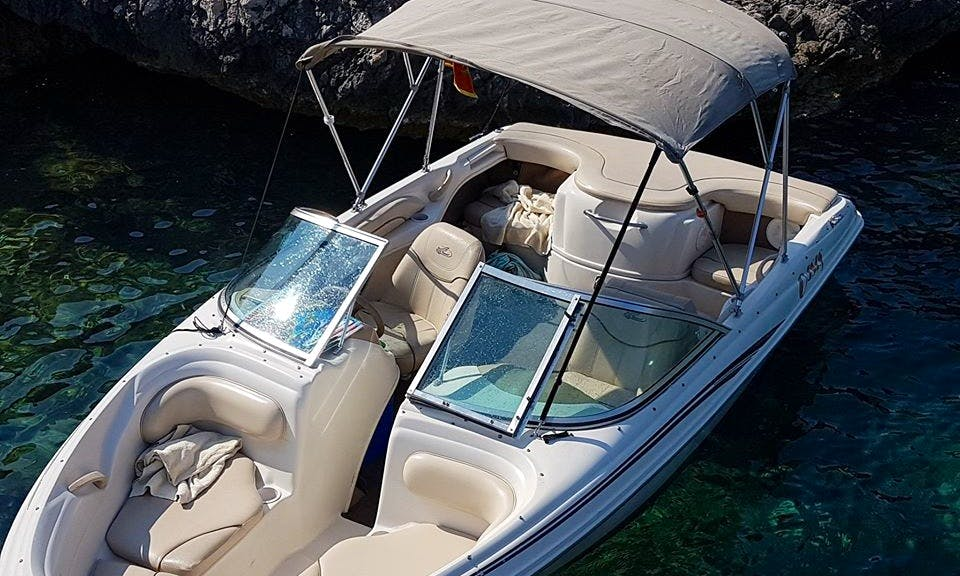 Charter a 20' Sea Ray Bowrider in Kotor, Montenegro