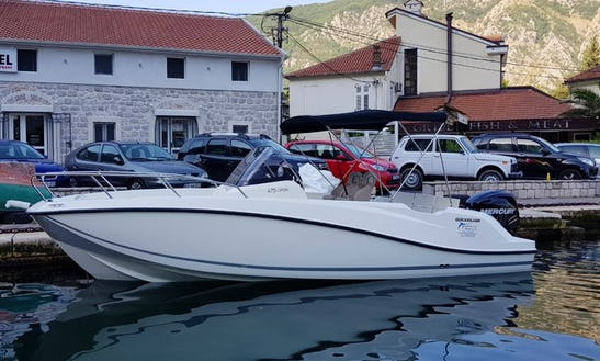 Charter A 25' Quick Silver Bowrider In Kotor, Montenegro