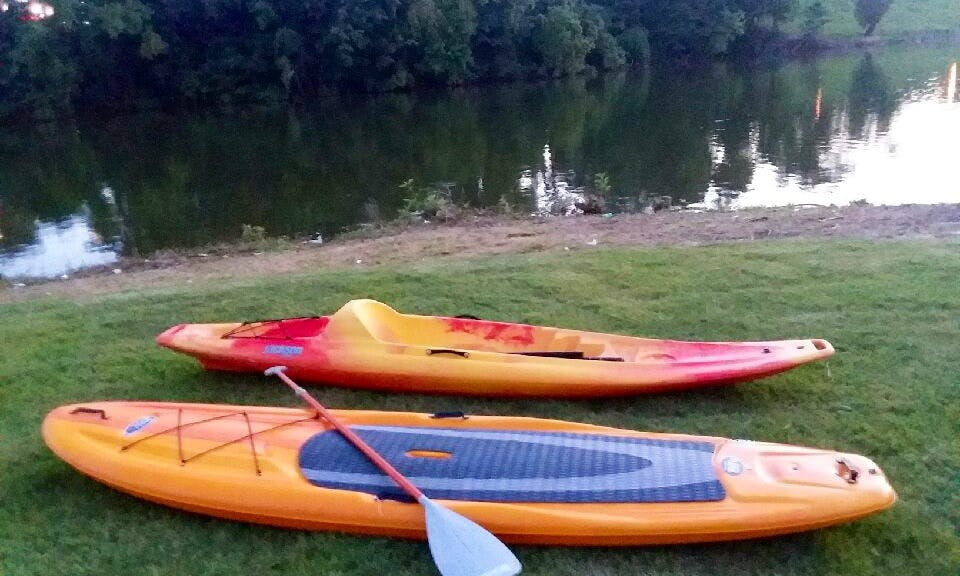 High Quality Paddleboard for Rent in Winchester, Tennessee!