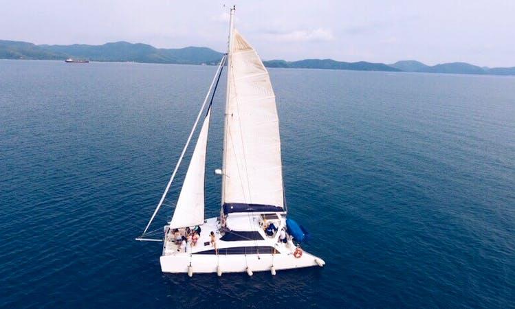 Charter Keshi Cruising Catamaran in Na Jomtien, Thailand