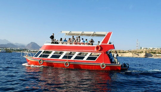 Double Decker Glass Bottom Boat Tour In South Sinai Governorate, Egypt