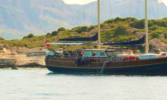 Soak Up The Sun For A Day On A Gulet Charter In Antalya, Turkey