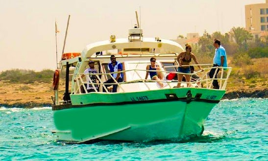 15-pax Diving Boat Trips In Paralimni