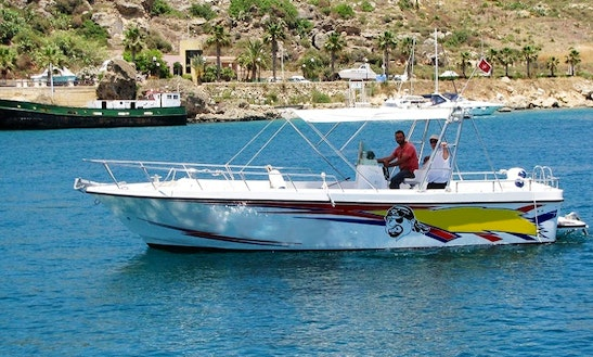 Enjoy Fishing In Ix-xewkija, Malta On 30' Jake Center Console