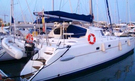 43' Cruising Catamaran Belize Charter In Badalona, Spain