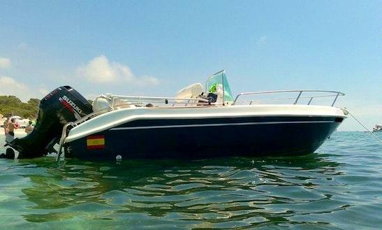 Marinello Fisherman-16 Charter In Tossa De Mar