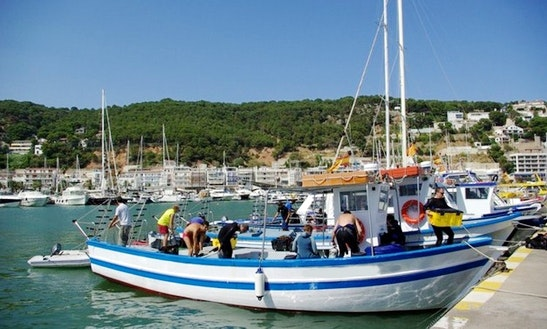 Passenger Boat Diving Charter In Torroella De Montgri, Spain