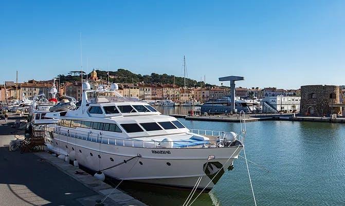 "Charter ""Ipsum"" Motor Yacht in Saint-Tropez, France"