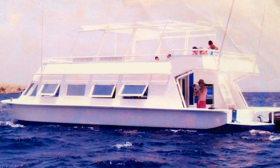 Charter A Glass Bottom Boat In South Sinai Governorate, Egypt