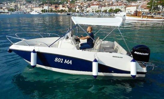 Deck Boat For Rent In Makarska