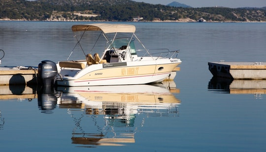 Rent This Sessa Key Largo 22 Boat Rental With Bimini Cover In Šibenik
