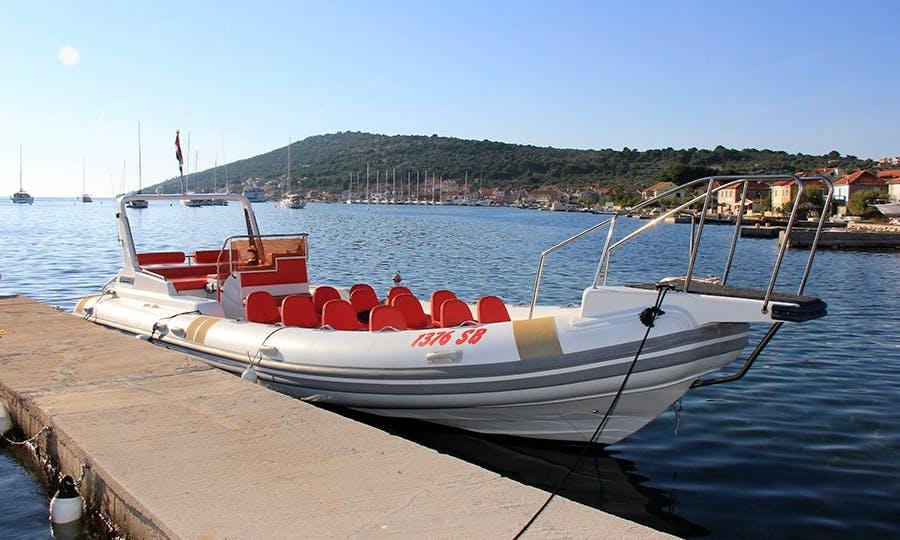 Exclusive RIB rental in Šibenik