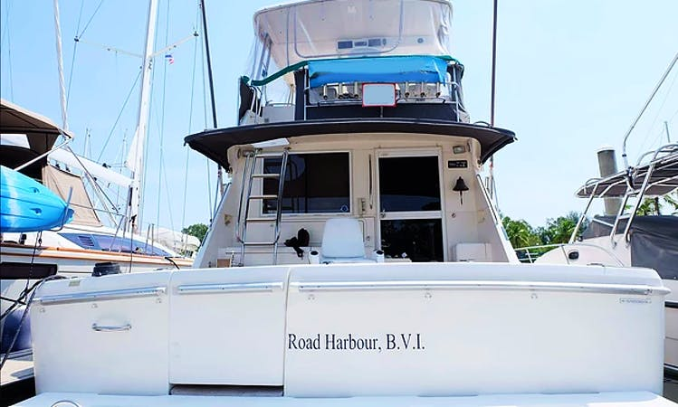 Charter 48' Motor Yacht in Tambon Bang Si Thong, Nonthaburi