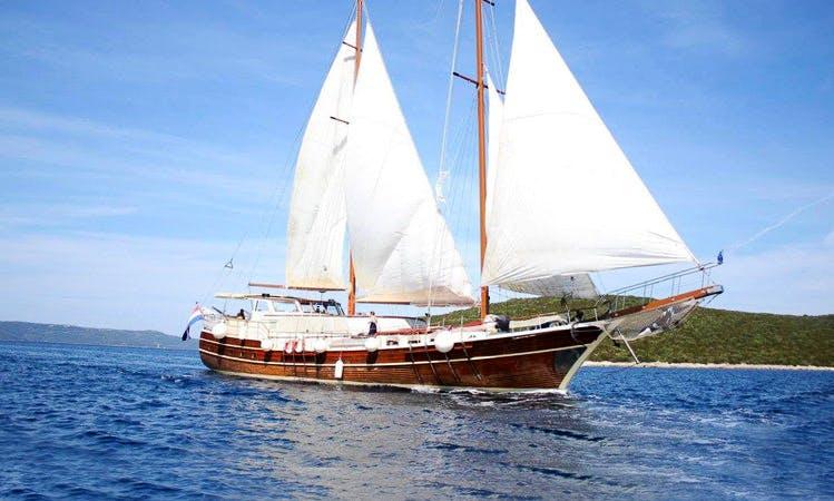 """""""Gardelin"""" Sailing Gulet Charter in Split"""