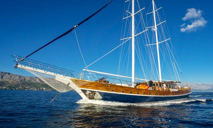 """""""Stella Maris"""" Sailing Gulet Charter in Split"""