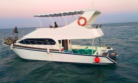 Enjoy Fishing In Red Sea Governorate, Egypt On A Motor Yacht