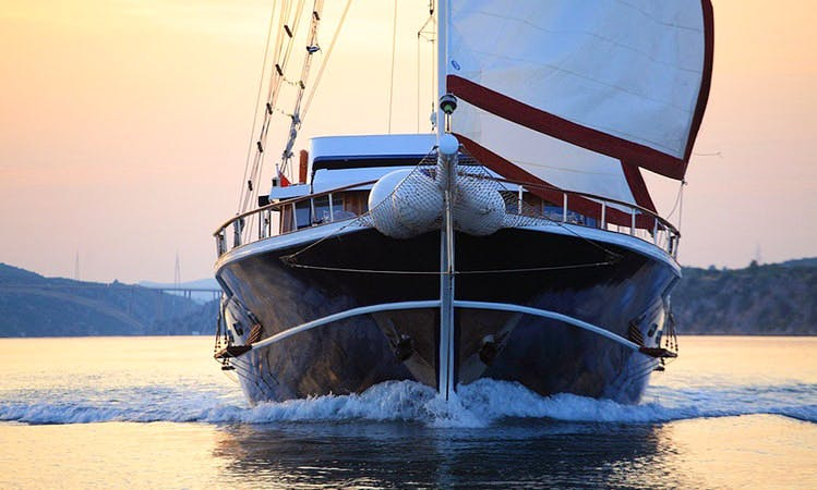 Sailing Gulet Charter in Split