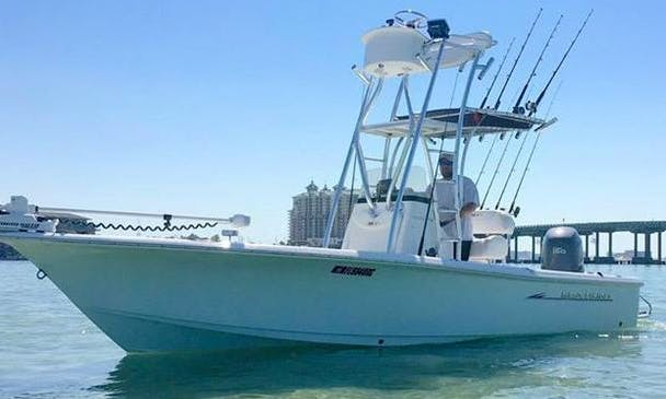 Enjoy Fishing 22' Sea Hunt Center Console In Destin, Florida