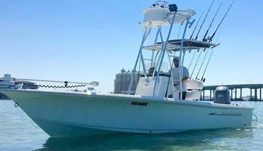 Enjoy Fishing 22' Sea Hunt Center Console In Destin, Florida