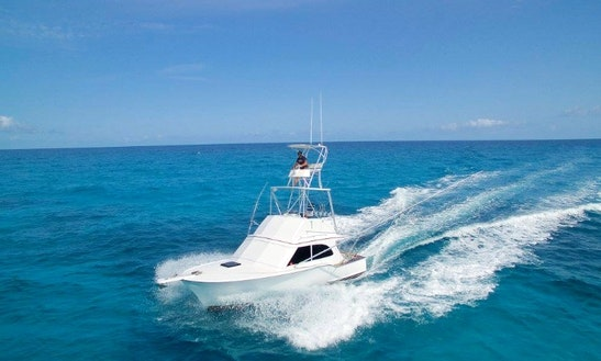 34' Buddy Davis Fishing Charter For 6 Person In Tavernier, Florida
