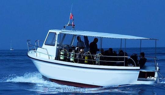 Dive Boat In Komiza' Croatia