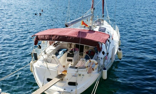 Gibsea 43 Sailing Charter In Croatia On