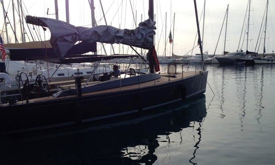 Charter Sly 42 Cruising Monohull In Antalya, Turkey
