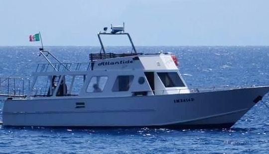 Charter A Motor Yacht In Lipari, Italy