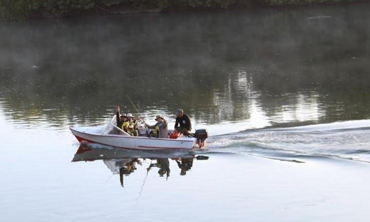 Enjoy Fishing in Teodoro Schmidt, Chile on 16' Dinghy
