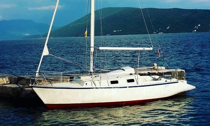 Charter 25' Nora Cruising Monohull in Herceg - Novi, Montenegro
