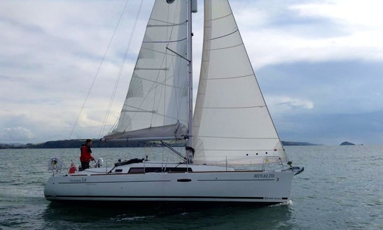 Sailing Charter On Cruising Monohull With A Experienced Skipper In England, United Kingdom