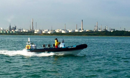 Charter A Rigid Inflatable Boat In England, United Kingdom