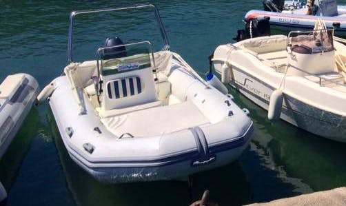 7 Person Rigid Inflatable Boat Rental In Cefalù, Italy