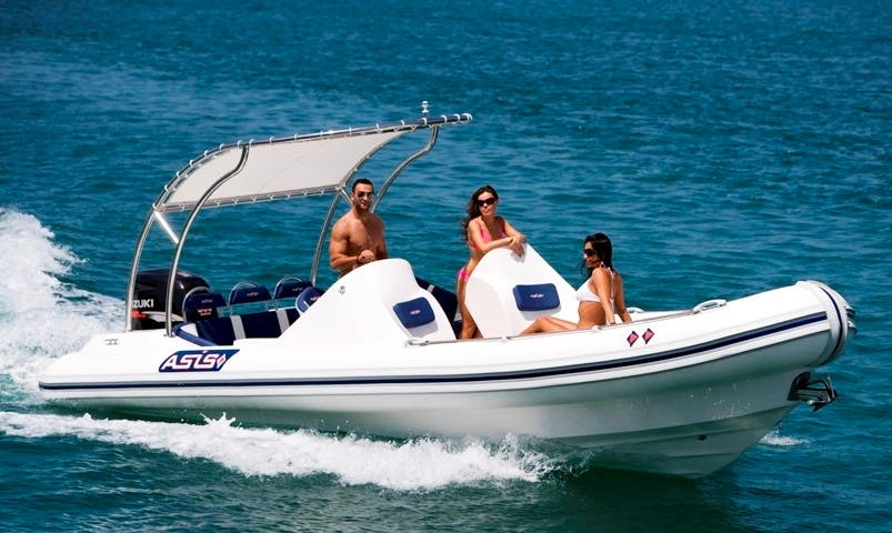 Rent 10 person Rigid Inflatable Boat In Cefalù, Italy for your next unforgettable water adventure