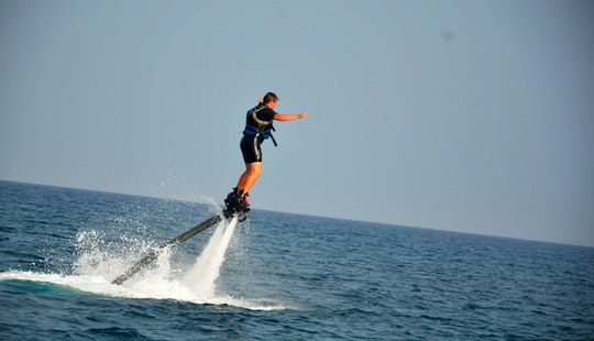 Enjoy Flyboarding In Tías, Canarias