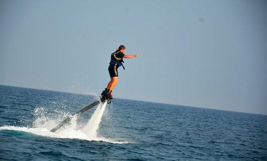 Enjoy Flyboarding In Tías, Canarias