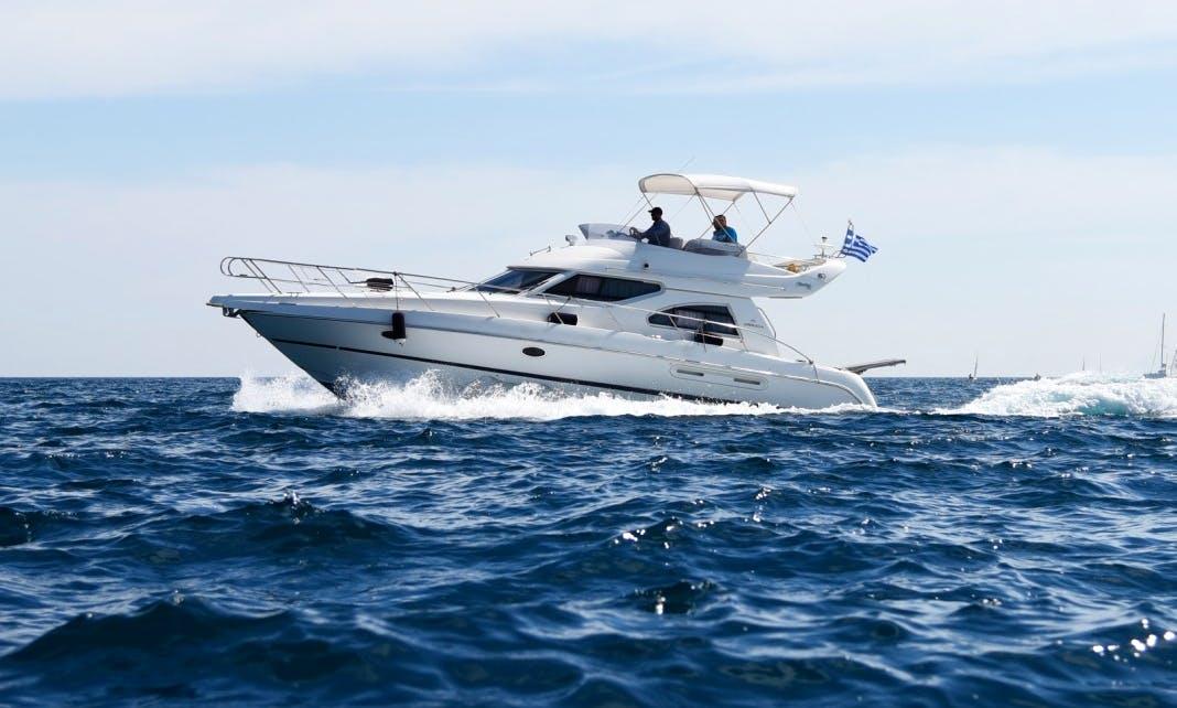 Beautiful Cranchi Atlantique 40 Yacht rental in Porto Cheli