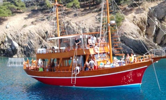 Charter A Gulet In Chalkidiki, Greece