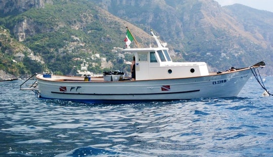 Diving Cabin Boat Charter In Praiano Salerno