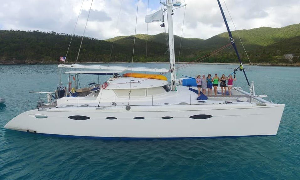 Charter a Cruising Catamaran in St. Thomas, U.S. Virgin Islands