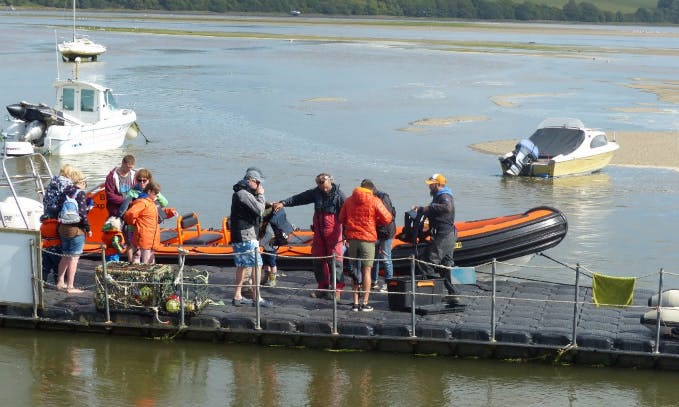 Charter a Rigid Inflatable Boat in Wales, United Kingdom