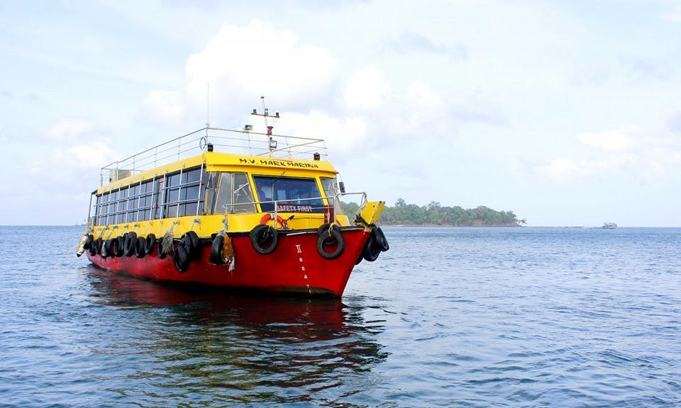 Charter Mark Marina Passenger Boat in Port Blair, Andaman and Nicobar Islands