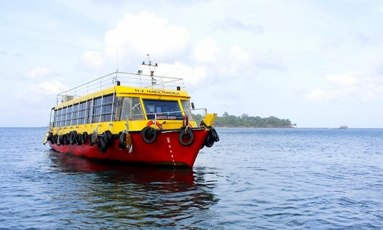 Charter Mark Marina Passenger Boat In Port Blair, Andaman And Nicobar Islands