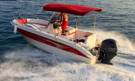 Rent 18' Syros Center Console In Makarska, Croatia