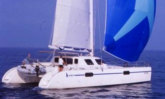 'azur' Mattia 51 Sailing Catamaran Charter In Sant'agata Di Militello