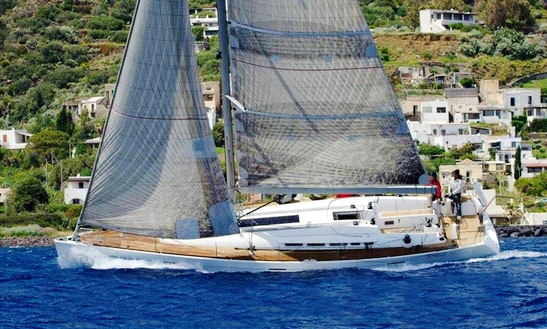 Impressive 52' Sailing Yacht For 8 Person In Palermo, Italy