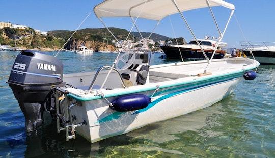 Gaia 160 Boat Rental In Ponza