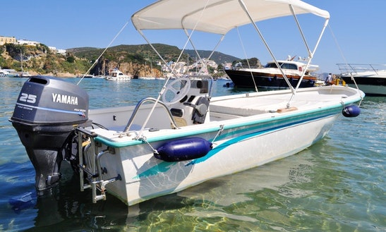 Gaia 160 Boat Rental In Ponza