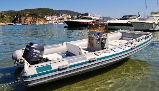 Joker Cruiser 520 Boat Rental In Ponza